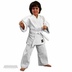 NEW Proforce Lightweight Karate Uniform Gi WHITE with White