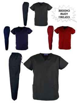 New Medical Nursing Uniforms>Unisex>Scrubs>Pant+top>Various