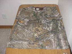 NEW XX-LARGE 2XL MEN'S C15405A CARHARTT CAMO MEDICAL NURSE S