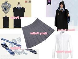 Cosplay Costume Ravenclaw School Uniform Dress New