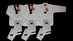 KANKU new Taekwondo  Uniform 7.5Oz Adult and Kids WTF, White
