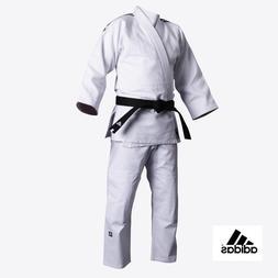 NEW adidas WHITE Judo CONTEST Gi DELUXE Single Weave Judo Un