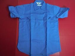 NWOT Topps Safety Apparel Fire Wear Light Blue S/S Uniform W