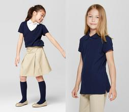 NWT Cat & Jack School Uniforms Little Girls polo 4/5 or Girl