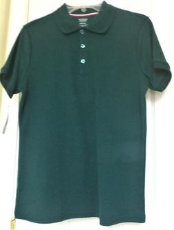 NWT GIRL'S Size 14/16-Plus FRENCH TOAST COTTON BLEND POLO -