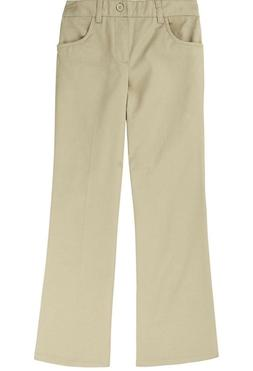 NWT French Toast Girls Pull-On Uniform Khaki Pants Size 6X