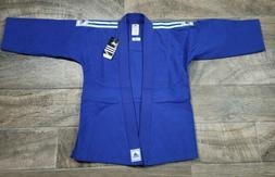 NWT ADIDAS JUDO JIU-JITSU UNIFORM BLUE Size 1
