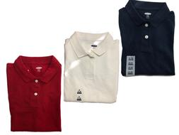 NWT Kids Old Navy Collar Uniform Tops - Navy, White, or Red