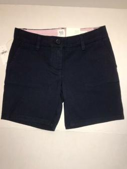 NWT Gap Kids Uniform Shorts Deep True Navy  Regular & Bermud