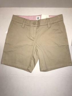 NWT Gap Kids Uniform Shorts Khaki  Regular & Bermuda