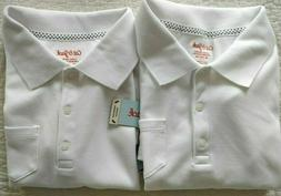NWT Lot of 2 Girls Uniform Shirts Top Cat & Jack White XL 14