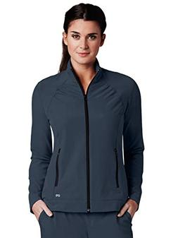 Barco One 5405 Zipper Front Jacket Steel L