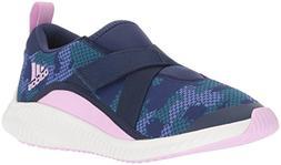 adidas Originals Unisex-Kids Fortarun Running Shoe, Dark Blu