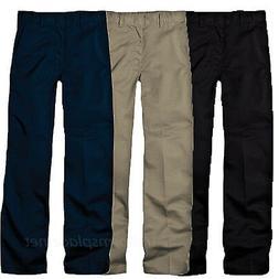 Dickies Pants School Uniforms Boys Flexwaist Flat front Adju