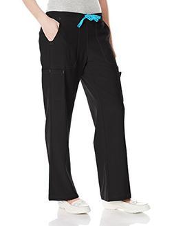 Carhartt Women's Petite Cross-Flex Utility Scrub Pant, Black