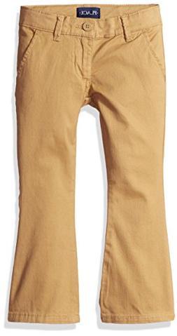 The Children's Place Girls Plus Size' Uniform Pants, Biscuit