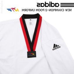 Adidas Poom Taekwondo Uniform CHAMPION 2 WTF Dobok Tae Kwon