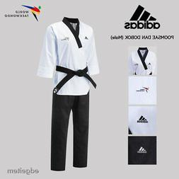 Adidas Poomsae WTF Dan Uniform  Taekwondo Dobok TKD Male Tae