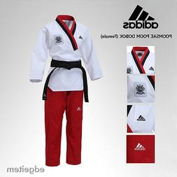 Adidas Poomsae WTF Poom Uniform  Taekwondo Dobok TKD Male Ta