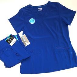 SCRUBSTAR Premium 4 Way Stretch Women's Small Scrub uniform