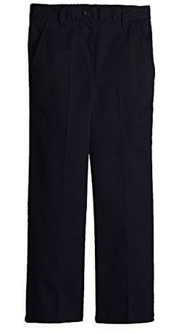 French Toast Boys' Relaxed Fit Cotton Twill Pull On Pant