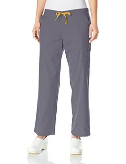 Carhartt Women's Rockwall Cargo Scrub Pant, Pewter, Large Pe