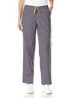 Carhartt Rockwall Women's Cargo Scrub Pant, Pewter, Medium