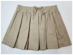 Justice School Uniform Beige Scooter Skirt Skort Girls Plus