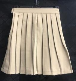 Genuine School Uniform Khaki Skirt K35946KHZG Size 7 *Brand