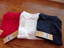School Uniform Little Boys' Toddler S/S Polo Shirt