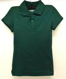 Cherokee School Uniforms Girls T-Shirt Green Size XS/TP FREE