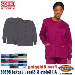 Dickies Scrub EDS SIGNATURE Women's Snap Front Warm up Jacke
