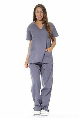 8cd6ca4a72d Just Love 22229-Grey-3X Women's Grey Scr... By Just Love. USD $19.99. Just  Love 216VG-1-1X Women's Scrub Tops/Holiday Scrubs/Nursi