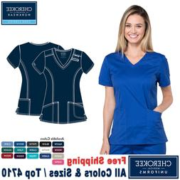 Cherokee Scrubs CORE STRETCH Women's Medical Uniform V-Neck