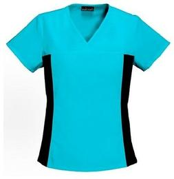 Cherokee Scrubs Flexibles V Neck Scrub Top 2874 Turquoise