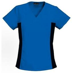 Cherokee Scrubs Flexibles V Neck Scrub Top 2874 ROYAL BLUE