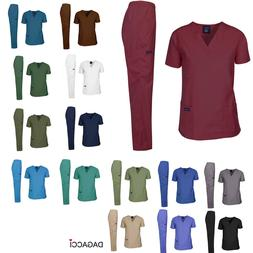 Dagacci Scrubs Medical Uniform Unisex Scrubs Set Medical Scr