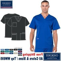 Cherokee Scrubs PROFESSIONAL Men's Medical Uniform V-Neck To