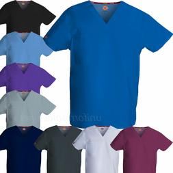 Dickies Scrubs Top UNISEX Men Women EDS Medical Scrub V-NECK