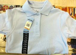 Nautica Set of 2 Boys Polos School Uniform Shirt Light Blue,