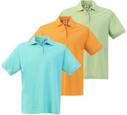 3 Pack Polo Shirt S Boys School Uniform Short Sleeve Solid K