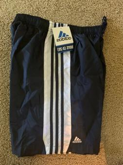 ADIDAS SOCCER Shorts Size XLARGE Shiny Nylon FOOTBALL Team U