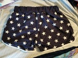 Star Pattern Shorts Navy Gym Uniform Love Live Cosplay Size