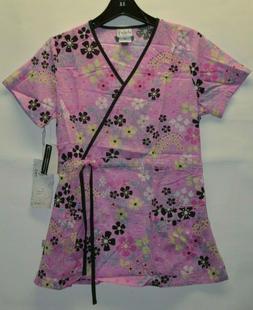 Cherokee Studio Women's Uniform Scrubs Top V neck 23985D Pin