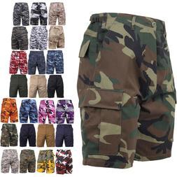 Tactical BDU Shorts Military Camo Cargo Shorts Army Fatigues