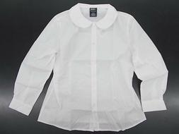 toddler and girls uniform white shirt w