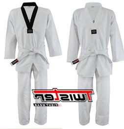 Twister Taekwondo Gi / Uniform 8.5oz Fabric  with free white