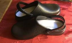 Natural Uniforms Womens Ultralite Clogs Black Size 8