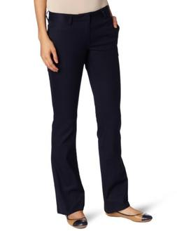 Lee Uniforms Juniors Original Bootleg Pant, Navy, 13