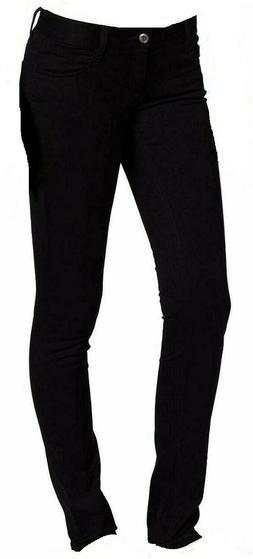 Lee Uniforms Juniors  Pocket Skinny Pants Black Size 0 FREE